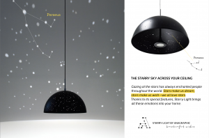 anagraphic starry light lamps catalog
