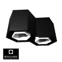 Hexo 2.0 Black White Surface Mount