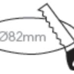 CG1608RB Cutout