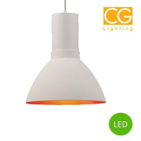 Mika White Gold LED Dimmerable