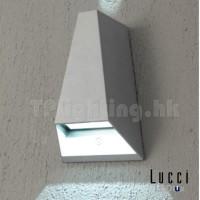 Vice Grey Outdoor IP44 LED Wall Lamp thumbnail