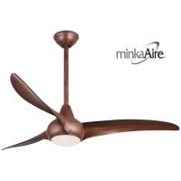 Minka Aire Wave Dark Koa 52 inches Ceiling Fan 風扇燈吊扇燈飾