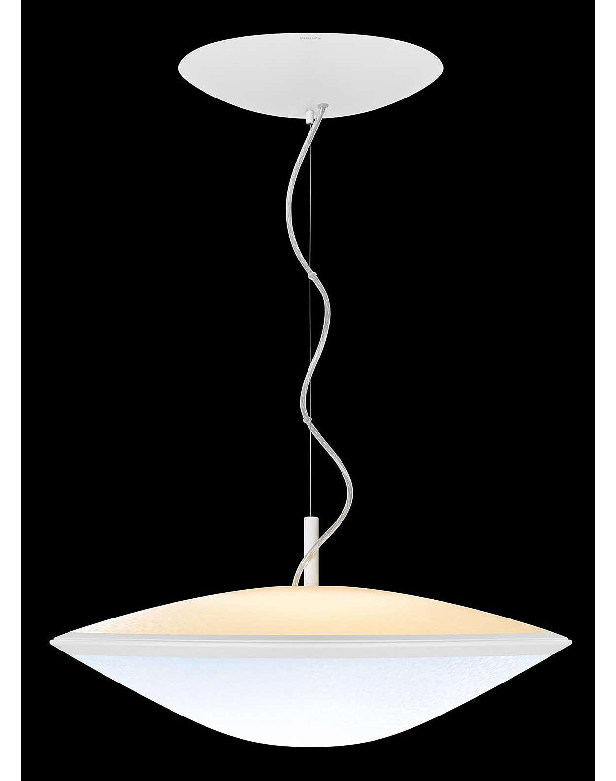 31152 Hue 2 0 Quot Phoenix Quot 22k 65k Plastic Pendant Lamp