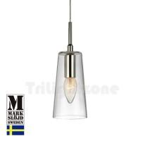 monstera glass pendant lamp thumbnail