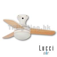 Girona White Maple Blade ceiling fan 吊扇燈風扇燈
