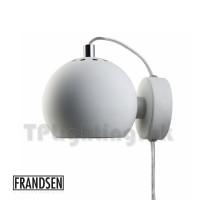 ball wall lamp matt white thumbnail