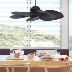 """210293 """"TAHITIAN"""" Bronze Motor with Coffee Blades 52 Inches Fan Only"""