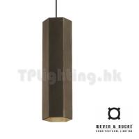hexo 3.0 PAR16 GU10 Pendant Lamp Bronze