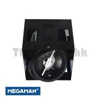 F30817RC Ancona Megaman AR111 LED Black Recessed Spot
