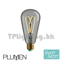 Whirly Willis 4W LED Clear Filament ST64 E27 2700k Dimmable可調光