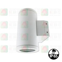 wl-1818-06-white outdoor wall lamp