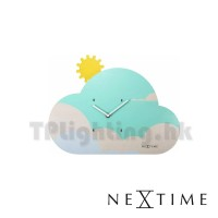 3207 cloudy kid wooden wall lamp 37cm