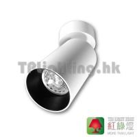TL-2017C-WH-BK White housing + black inner ring ceiling spot light GU10 aluminium 04