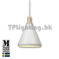 106309 markslojd leonardo light wood white metal pendant lamp