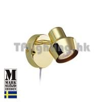 106315 markslojd urn brass wall lamp