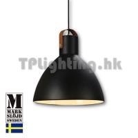 106550 markslojd eagle black matel pendant lamp