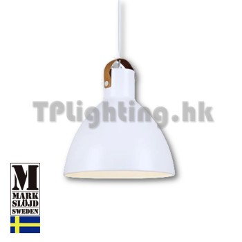 106551 markslojd eagle white matel pendant lamp