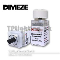 DIMEZE LEGEND TECH DZ3G450DIAL ROTARY DIMMER SWITCH
