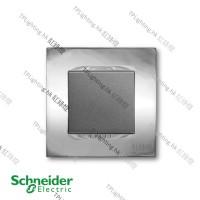 schneider unica 1 gang MGU3_261_BC bright chrome