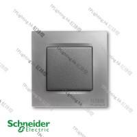 schneider unica 1 gang MGU3_261_MC matt chrome
