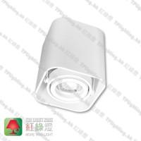 GD5641WH_03 white surface white inner aluminium surface mount spot light