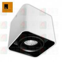 ted lighting sdg7003-wb white black surface mount light 盒仔燈