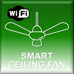 smart ceiling fan website icon green