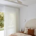 52 radar white motor white oak ceiling fan 風扇燈3