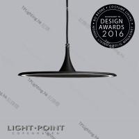 280401 flat led pendent lamp light point