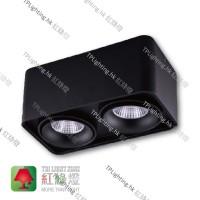 SDg-07004-BK black surface mount spot light aluminium