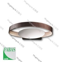 fabas luce gaby ip44 led wall lamp