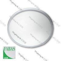 fabas luce plaza ceiling lamp glass