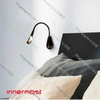 Cobra-Nude-black-lifestyle-innermost lighting wall lamp 壁燈