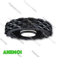 anemoi 001 black bladeless ceiling fan 無葉扇