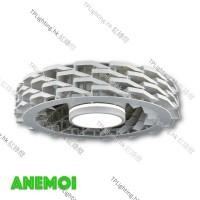 anemoi 001 white bladeless ceiling fan 無葉扇