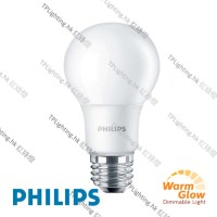 philips led a60 dimmable warm glow