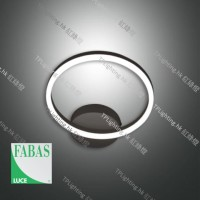 fabasluce 3508-21-101 black giotto ceiling light