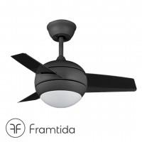 framtida saturn black ceiling fan 吊扇 風扇燈