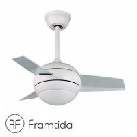 framtida saturn white ceiling fan 吊扇 風扇燈
