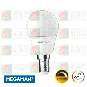 LG2605.5dR9 5.5W LED (40W) P45 E14 2800k Ra90 470lm Dimmable 01