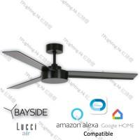 bayside lagoon bk ceiling fan google home amazon alexa