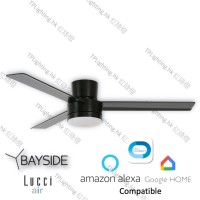 bayside lagoon ctc LED bk ceiling fan google home amazon alexa