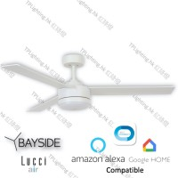 bayside lagoon led wh ceiling fan google home amazon alexa