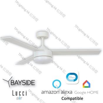 bayside lagoon led wh ceiling fan google home amazon alexa