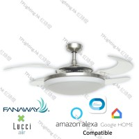 fanaway evo2 BC ceiling fan google home amazon alexa