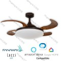 fanaway evora orb ceiling fan google home amazon alexa