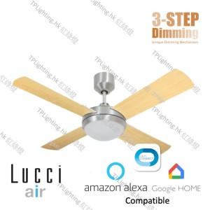 futura mood 42 bc+wood ceiling fan google home amazon alexa