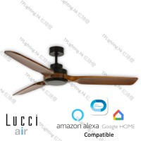 lucci air shoalhaven black BC ceiling fan google home amazon alexa