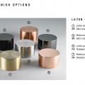 CVL materials in solid brass