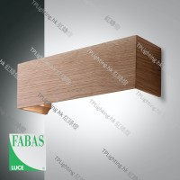 fabasluce bard wood wall lamp 3383-21-215-02 壁燈
